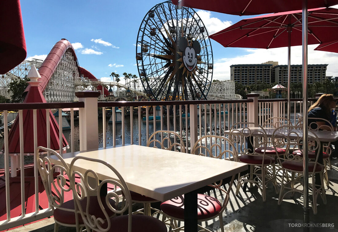 Disneyland California bord Lamplight