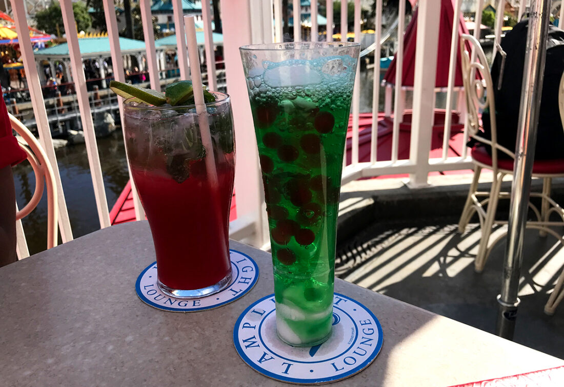Disneyland California drinker Lamplight