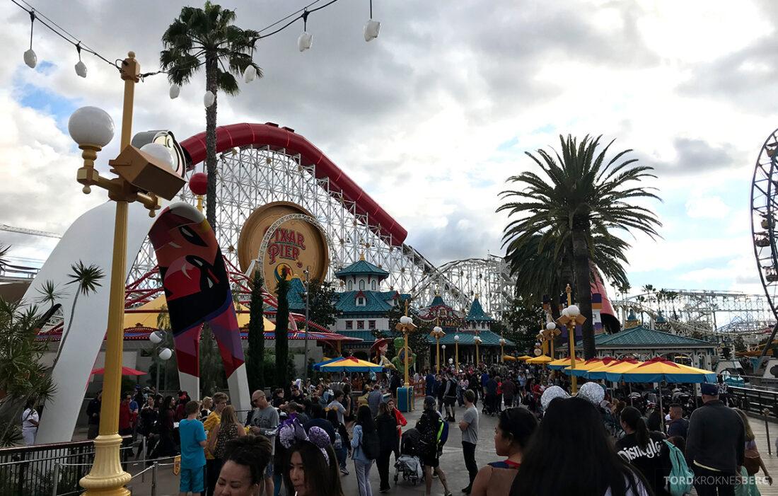 Disneyland California Pixar Pier