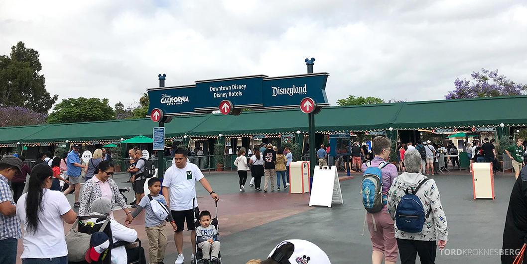 Disneyland California inngang