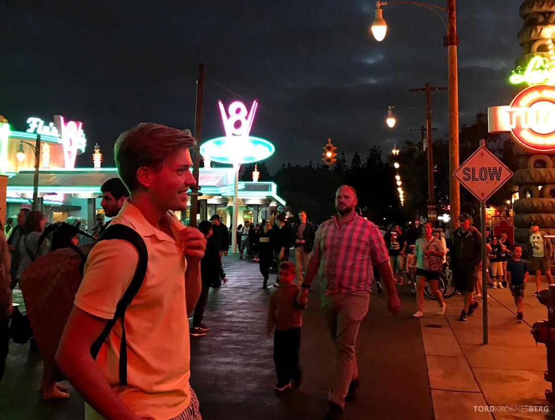 Disneyland California natt Tord Kroknes Berg