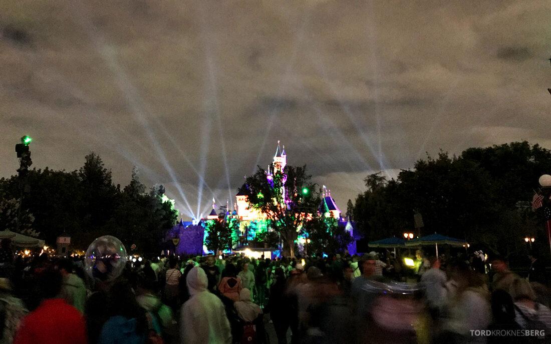 Disneyland California castle night