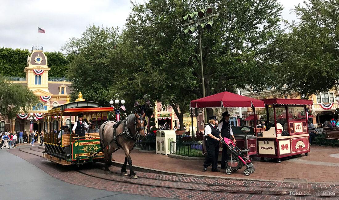 Disneyland California transport hest